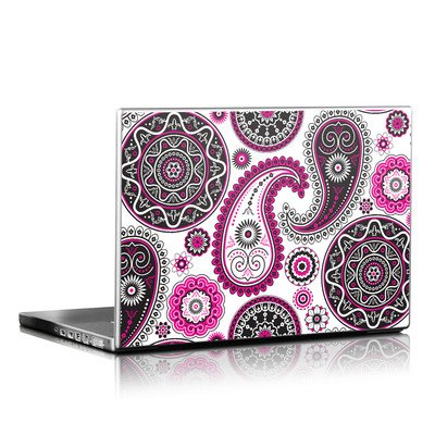 Laptop Skin - Boho Girl Paisley
