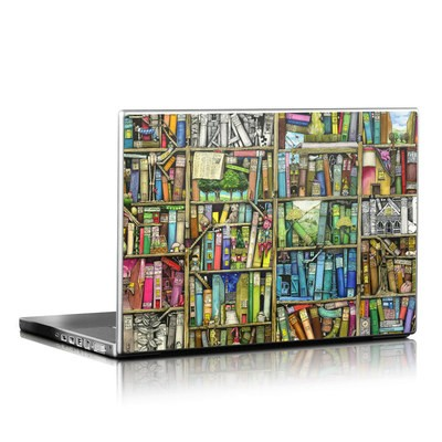 Laptop Skin - Bookshelf