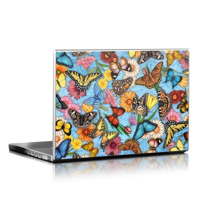 Laptop Skin - Butterfly Land