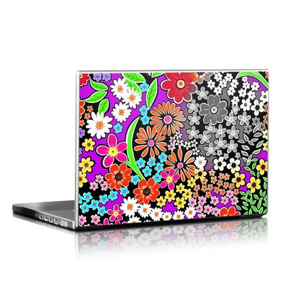 Laptop Skin - A Burst of Color