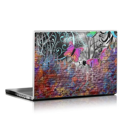 Laptop Skin - Butterfly Wall