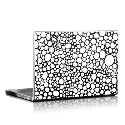 Laptop Skin - BW Bubbles