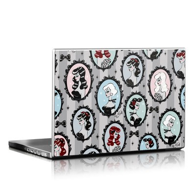 Laptop Skin - Cameo Dolls
