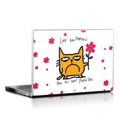 Laptop Skin - Catwad Happy