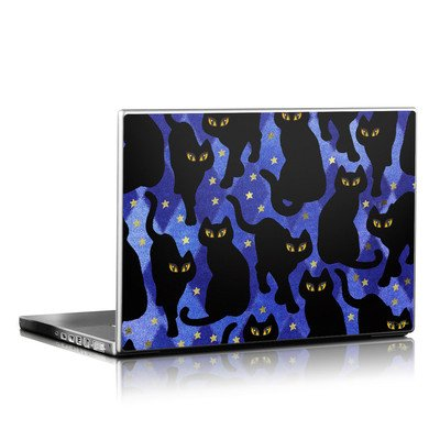 Laptop Skin - Cat Silhouettes