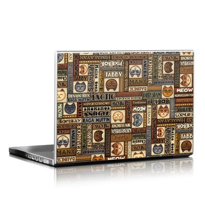Laptop Skin - Cat Breeds