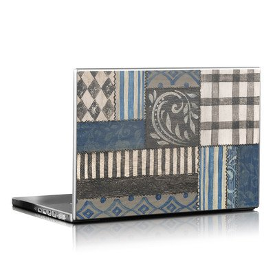 Laptop Skin - Country Chic Blue