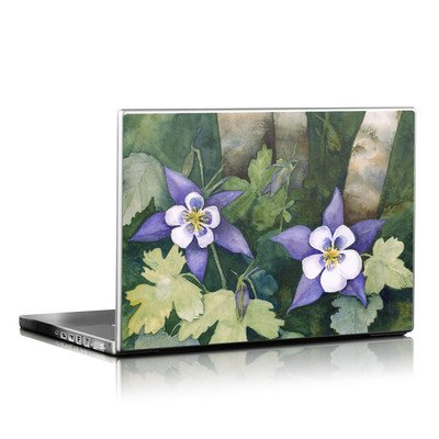 Laptop Skin - Colorado Columbines