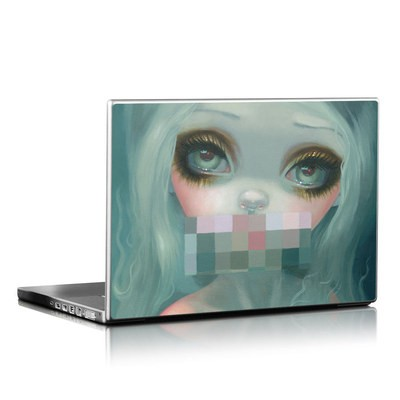 Laptop Skin - Censored Smile
