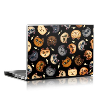 Laptop Skin - Cat Faces