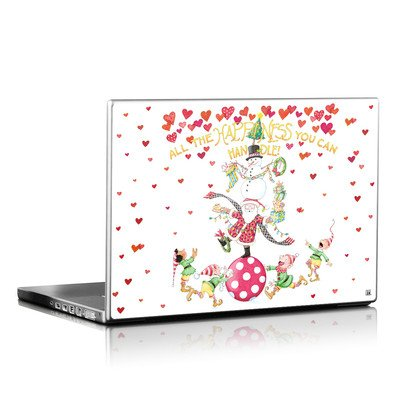Laptop Skin - Christmas Circus
