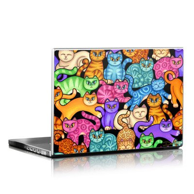 Laptop Skin - Colorful Kittens