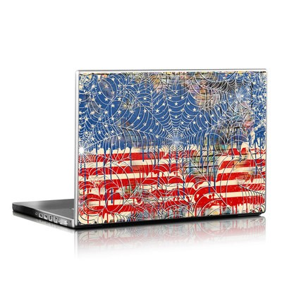 Laptop Skin - Cobweb Flag