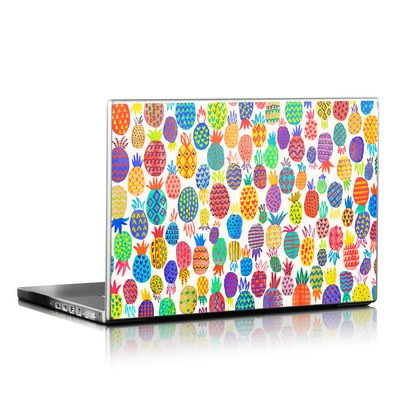 Laptop Skin - Colorful Pineapples