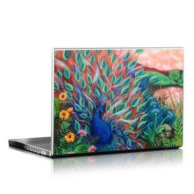 Laptop Skin - Coral Peacock