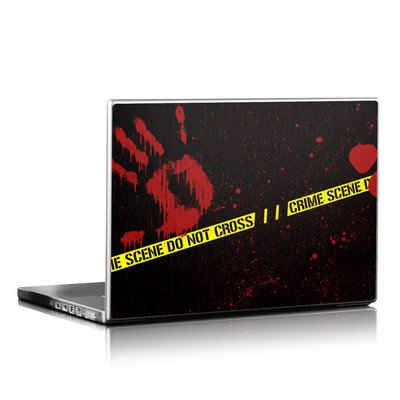 Laptop Skin - Crime Scene