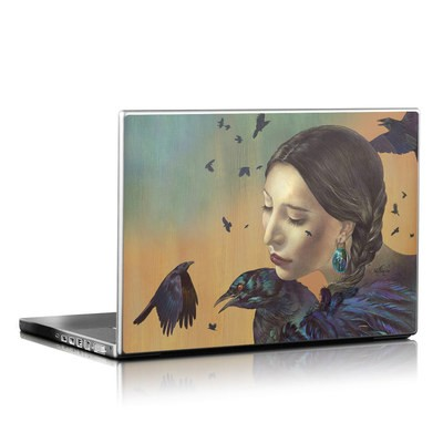 Laptop Skin - Crow Maiden