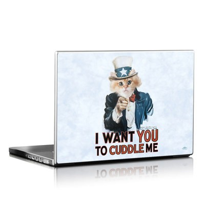 Laptop Skin - Cuddle Me