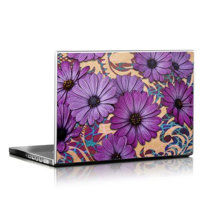 Laptop Skin - Daisy Damask