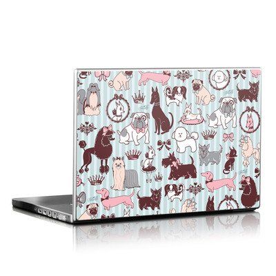 Laptop Skin - Doggy Boudoir