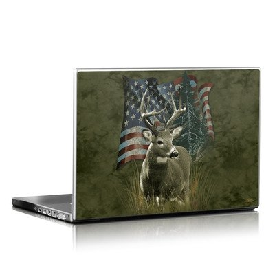 Laptop Skin - Deer Flag