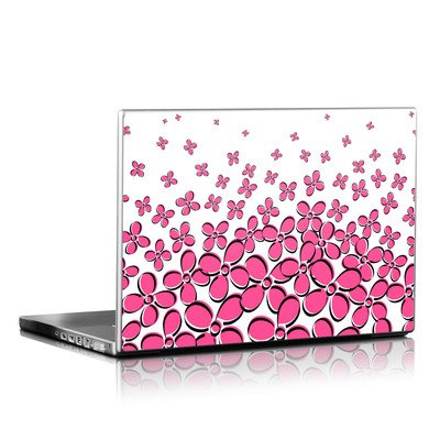 Laptop Skin - Daisy Field - Pink