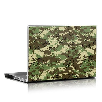 Laptop Skin - Digital Woodland Camo