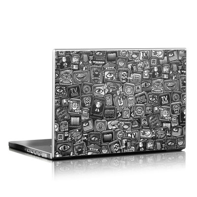 Laptop Skin - Distraction Tactic B&W