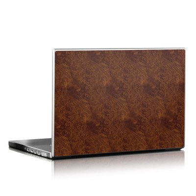 Laptop Skin - Dark Burlwood