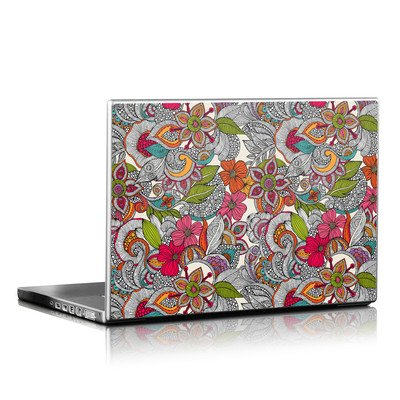 Laptop Skin - Doodles Color