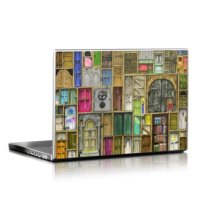 Laptop Skin - Doors Closed