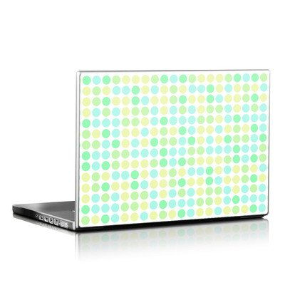 Laptop Skin - Big Dots Mint