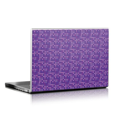 Laptop Skin - Dots Purple
