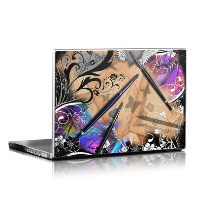 Laptop Skin - Dream Flowers