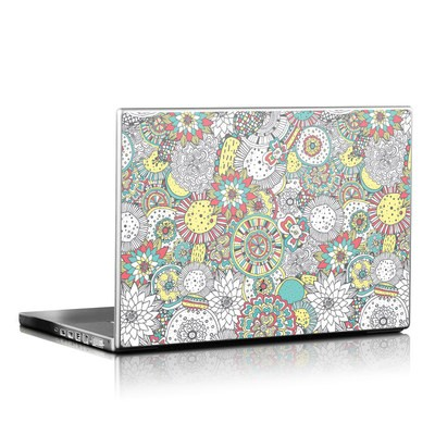 Laptop Skin - Faded Floral