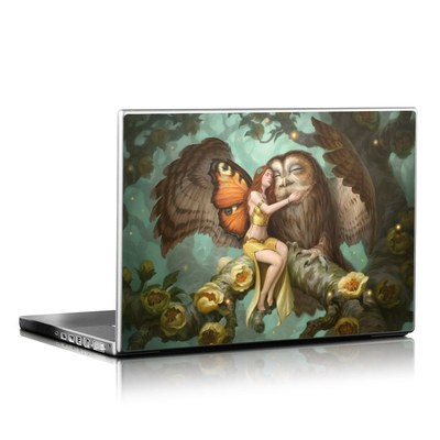 Laptop Skin - Fairy and Owl