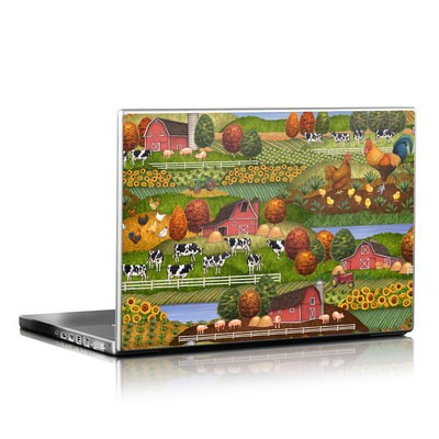 Laptop Skin - Farm Scenic