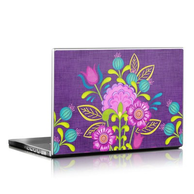 Laptop Skin - Floral Bouquet