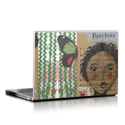 Laptop Skin - Fearless Heart