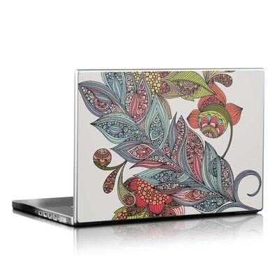 Laptop Skin - Feather Flower