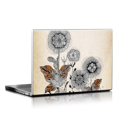 Laptop Skin - Four Flowers