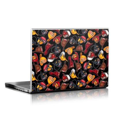 Laptop Skin - Fire Helmets
