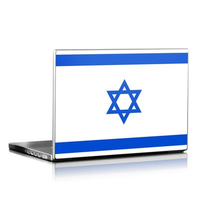 Laptop Skin - Israel Flag