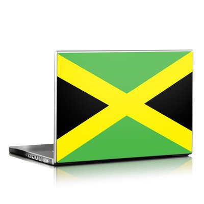 Laptop Skin - Jamaican Flag