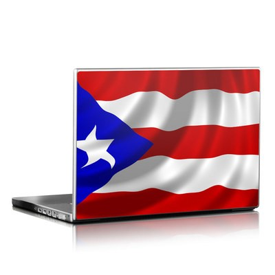 Laptop Skin - Puerto Rican Flag