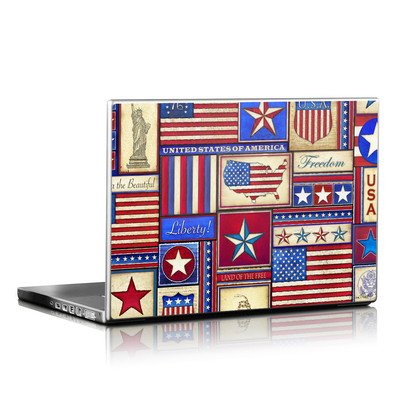 Laptop Skin - Flag Patchwork