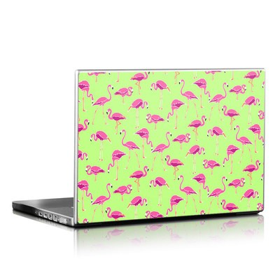 Laptop Skin - Flamingo Day