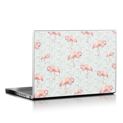 Laptop Skin - Flamingo Mosaic