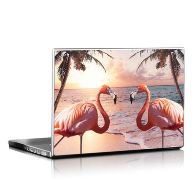 Laptop Skin - Flamingo Palm