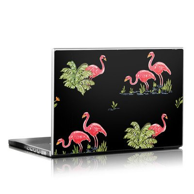 Laptop Skin - Flamingos